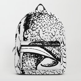 owl by Laura Pizzicalaluna Backpack