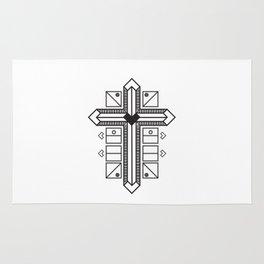 Mighty cross Rug