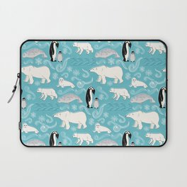 Artic Winter Wonderland Laptop Sleeve