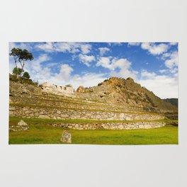 Machupicchu Sanctuary landscape Rug