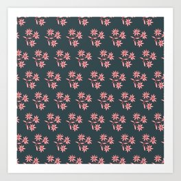 Pattern floral  Art Print