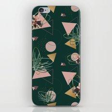 Succulents Atoms #society6 #decor #buyart iPhone Skin