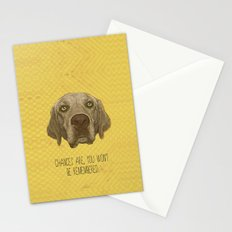 Golden Lab Print Stationery Cards