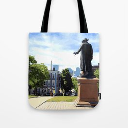 Battle of Bunker Hill, Boston, MA Tote Bag