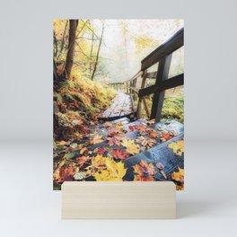 Falling Leaves Mini Art Print