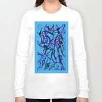 carousel Long Sleeve T-shirts featuring Carousel by Art by Mel