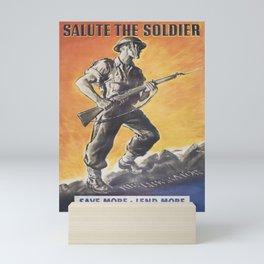 The Liberator, Reprint of wartime Poster Mini Art Print