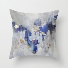 North Gold  Throw Pillow