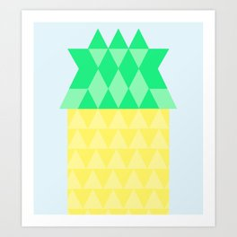 Pineapple House Art Print