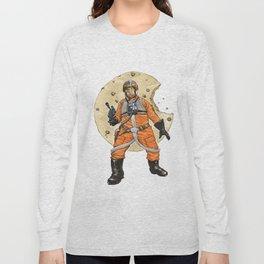 Red Six Saves the Galaxy Long Sleeve T-shirt