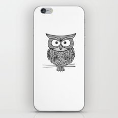 Hoot! Says the owl iPhone & iPod Skin