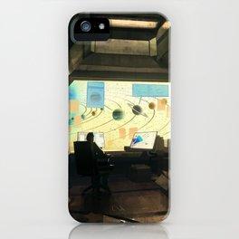 Space explorer iPhone Case