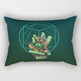 Crystal III - Beetle Rectangular Pillow