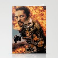 mad max Stationery Cards featuring Mad Max by SB Art Productions