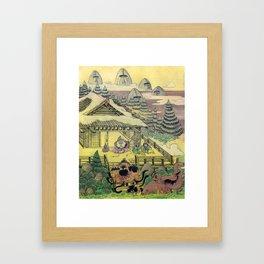 Mu Guai and the Tiger's Eye, Panel 1 Framed Art Print