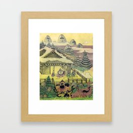 Mu Guai and the Tiger's Eye, Panel 1 Framed Art Print