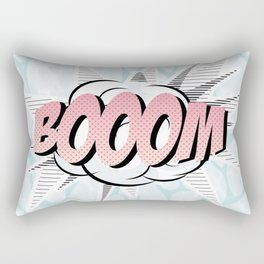 Water comics pastel boom Rectangular Pillow