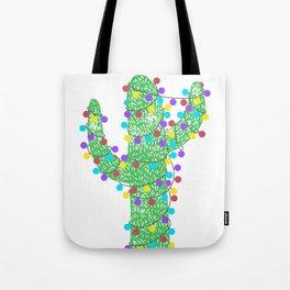 Festive Cactus Tote Bag