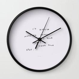 Permanent Mark  Wall Clock