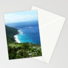 Wild beach South Africa Stationery Cards