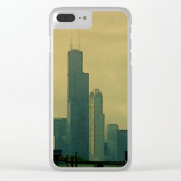 Traffic Jam View #2 Clear iPhone Case