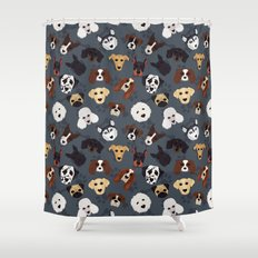 Canine Collective Shower Curtain