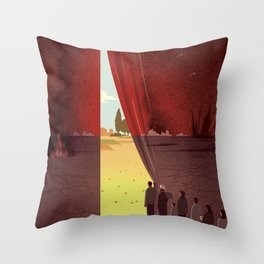 Hope Beyond the War Throw Pillow