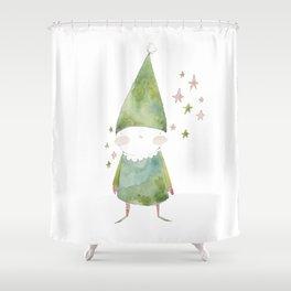 Bird Elf Shower Curtain