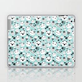 Cats & Food Pattern Laptop & iPad Skin