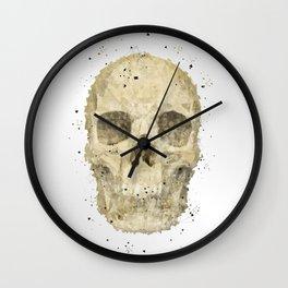 Geometric - Skull Wall Clock