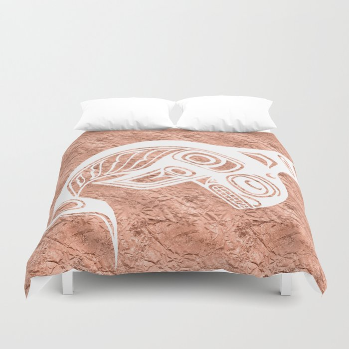 Spirit Keét Copper Duvet Cover