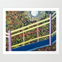 It's the Third Level Stairway to Your Right Art Print
