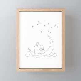 Honeymoon Framed Mini Art Print
