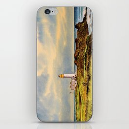 Turnberry Golf Course Scotland 9th Tee iPhone Skin