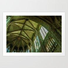 Light in the Transept Art Print