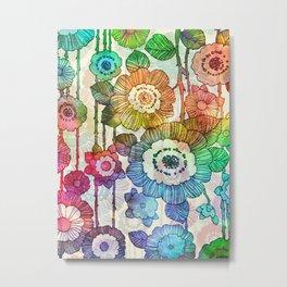 Hanging Flower Garland #2 Metal Print