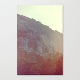 Slope Down Canvas Print