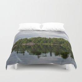 Boundary Waters Landscape Duvet Cover