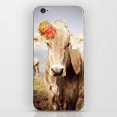 Lady Cow. iPhone & iPod Skin