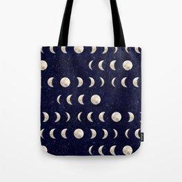 Moon Phase - Galaxy Tote Bag