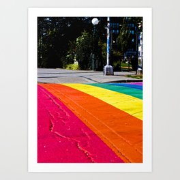 Capitol Hill Crosswalk Art Print
