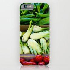 Graphic vegetables iPhone 6s Slim Case