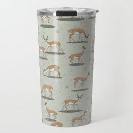 Springbok pattern Travel Mug