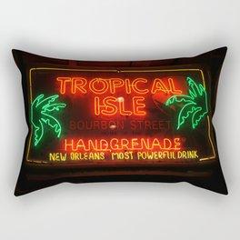 Neon New Orleans Rectangular Pillow
