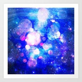 Unknown Galaxies Art Print