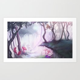 The Magical Abyss Art Print