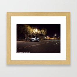 Jeep Rubicon  Framed Art Print