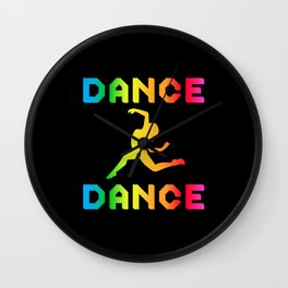 Dance Dancing Party Music Sport Dancer Gift Idea Wall Clock