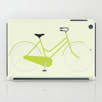 bike iPad Cases featuring Bike by Yellow Chair Design