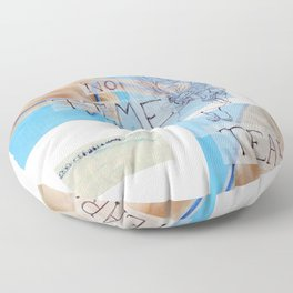 no time for tears Floor Pillow